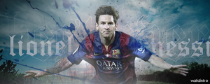 Messi by WALIDINHOOO