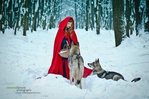 Little Red Riding Hood I by Miss-Bo