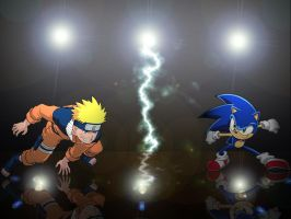 Naruto Verses Sonic by SuperSonic67