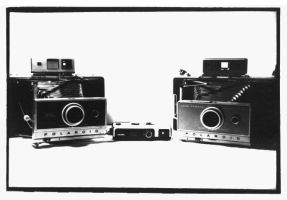 My Cameras. by xM0nkeyx