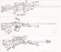 Big Rifles by TheLivingRedBaron