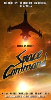 Space Command Poster 2 by Casperium