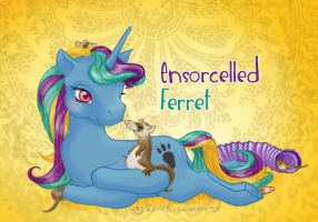 For Ensorcelled Ferret by colormist