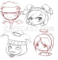 The Zaffies 1 by Tea-desu