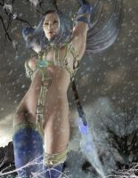 Snow Maiden by KaanaMoonshadow by Realm-of-Fantasy