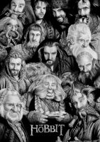 Dwarves of THE HOBBIT by Mim78