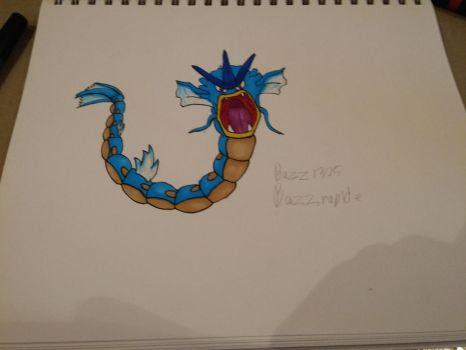 Gyarados request by RfrIce by buzz1325