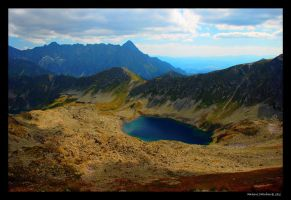 Zawrat, Tatra Mountains, 2159 meters ASL by ballzenator