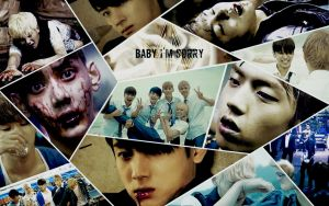 Myname Baby I'm Sorry Wallpaper by KpopGurl