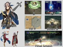 Micaiah SSB Moveset by Hyrule64