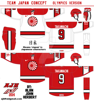 Team Japan Olympics concept by AJHFTW