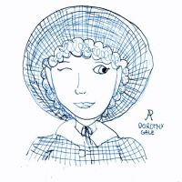 Dorothy once more, now in bigger hat by Ajzan-Hataru