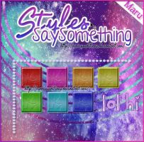 Styles SaySomething by MaaruuEditions