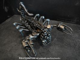 The Metal Scorpion by Kreatworks