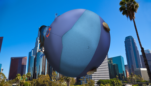 Kristina floating over California by JuacoProductionsArts