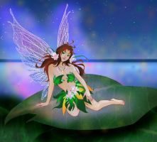 COLORS Cyannleola Flower Fairy by dragonariaes
