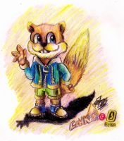 .: Conker the Squirrel :. by PrideAlchemist7