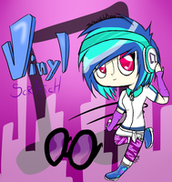 Vinyl Scratch by TheShyWhiteBunny