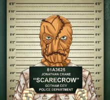 Gotham City Mugshots - Scarecrow by Costalonga