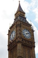 Abseiling Big Ben - London 2014 by wildplaces
