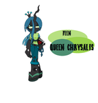 Teen Queen Chrysalis by Mattmankoga
