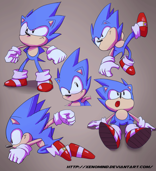 Toei Sonic Stuff by XenoMind