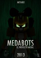Medabots Movie Poster Metabee by pablolanztl