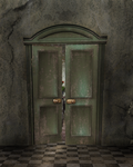 A Curious Door 1 by BlackDragynStock