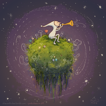 Samorost 3 - Cosmic Moss by proteidaes