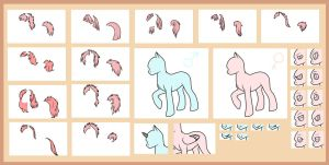Pony Line, 10 points by Terriniss