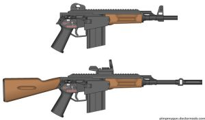 MAC-2 Mendeleev Assault Carbine Model 2 by king11fallen
