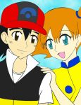 Ash and Misty Colored by NaruHina2010