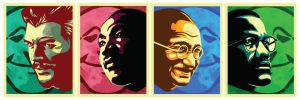 Political Icons by SeedofSmiley
