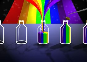 The Rainbow Factory by benbacardi