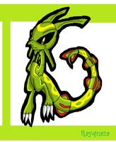 .::Rayquaza::.Sonic Styled by Star-Wingz
