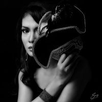 The Lady Behind The Mask II by thesaintdevil