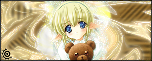 Teddy Bear Girl Signature by rellik1990