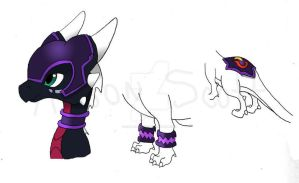 Cynder: Munition's Forge Armor by sapphire3690