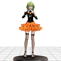 MMD [Phantom Thief F's Scenario~MotMD] Gumi Model by ChiharuYuuka