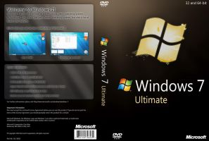 Windows 7 Ultimate DVD by yaxxe