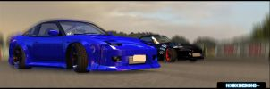 Drift Legends Twin 1 - N3OX D. by DjN3oX