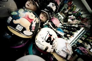 Get your helmets here by frankrizzo
