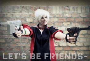 Let's be friends by yaminita