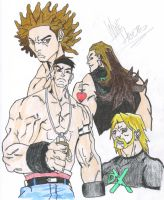 WWE by Naionexis