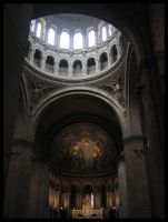 Inside Sacre Coeur by Nechbet