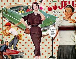 Vintage collage by rubylima