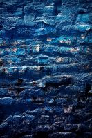 blue brick texture by beckas