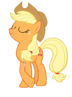 Applejack Vector by jourple