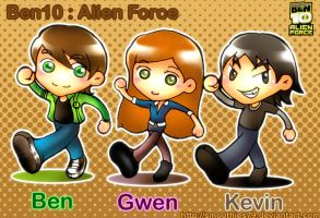 Ben10 : Alien Force SD by smoothies79