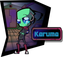 AT: Irken Karuma by AlyssaC-12